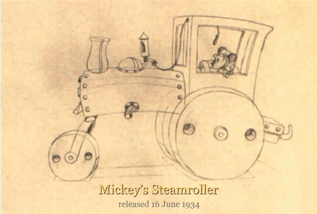 Mickey's Steamroller