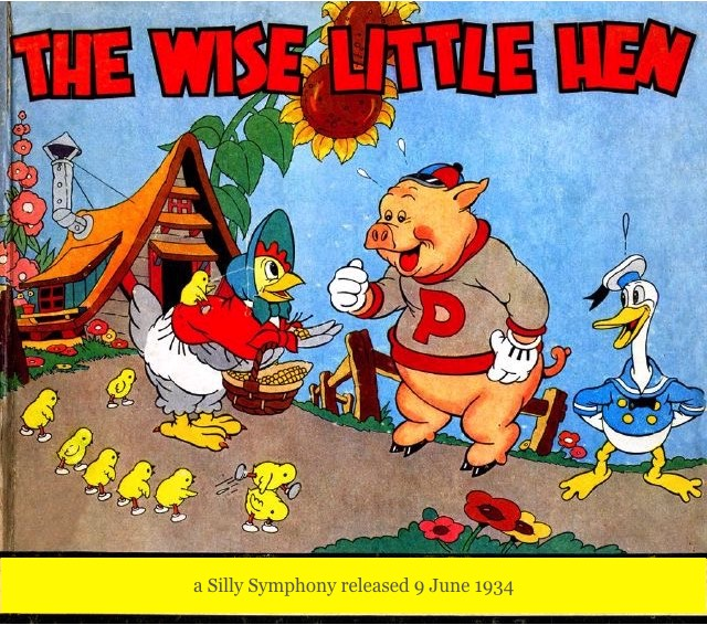 1934 The Wise Little Hen