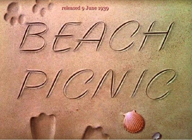 1939 Beach Picnic