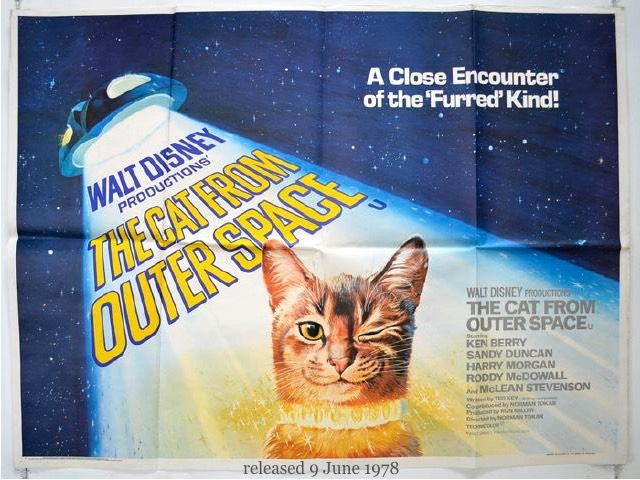 1978 The Cat from Outer Space
