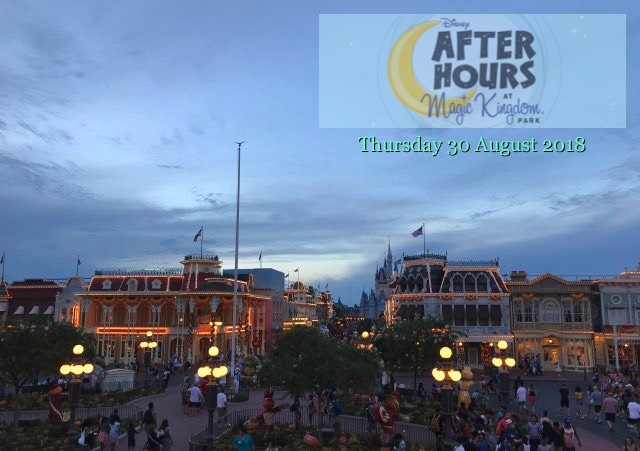 After Hours at the Magic Kingdom - 30 Aug 2018