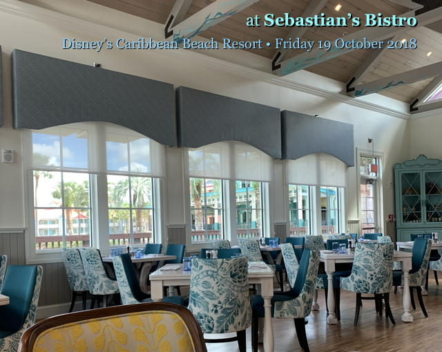 Lunch at Sebastian's Bistro