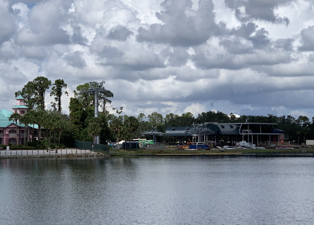 a look at Disney Skyliner