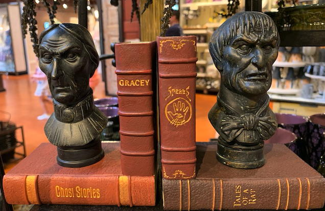 Haunted Mansion bookends