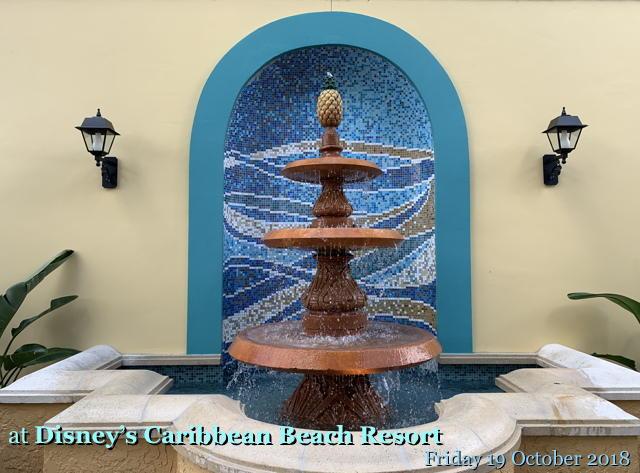 at Disney's Caribbean Beach Resort