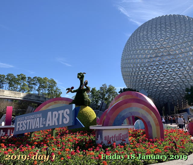 Epcot 2019 Festival of the Arts Day 1