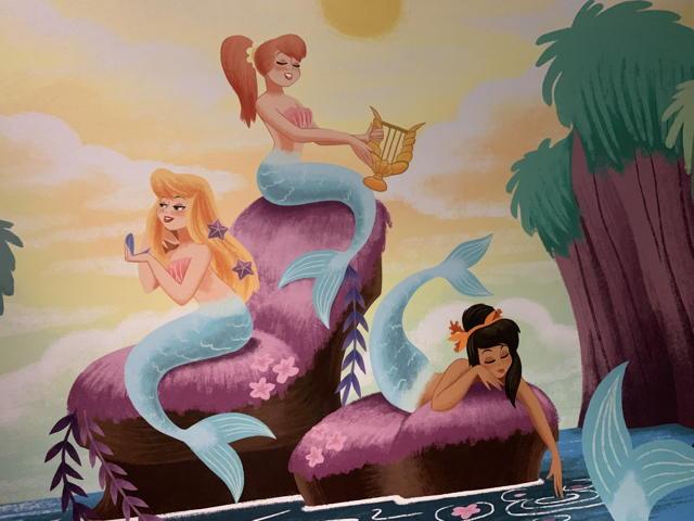 ...into Mermaid Lagoon